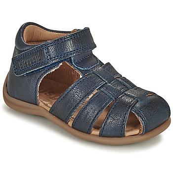 Shoes Children Sandals Bisgaard CARLY Marine
