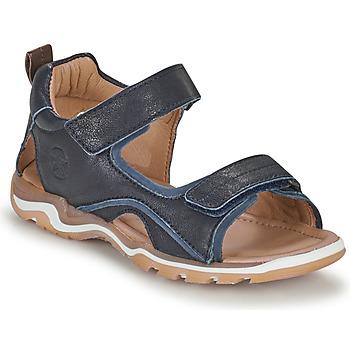 Shoes Boy Outdoor sandals Bisgaard CASPAR Marine