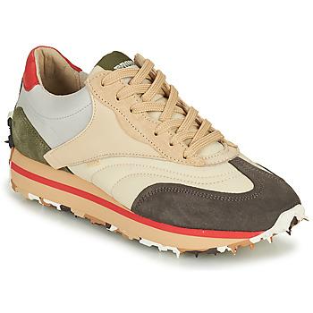 Shoes Women Low top trainers Bronx MA TRIXX Grey / Brown / Green
