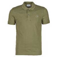 Clothing Men Short-sleeved polo shirts Lacoste POLO SLIM FIT PH4012 Kaki