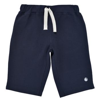 Clothing Boy Shorts / Bermudas Petit Bateau LAVIEN Marine