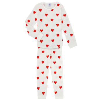 Clothing Girl Sleepsuits Petit Bateau MISON Multicolour