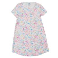 Clothing Girl Sleepsuits Petit Bateau MARTINE Multicolour