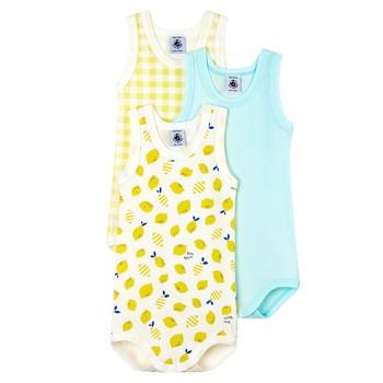 Clothing Boy Sleepsuits Petit Bateau MOLIU Multicolour