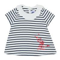 Clothing Girl Short-sleeved t-shirts Petit Bateau MELIANE Multicolour