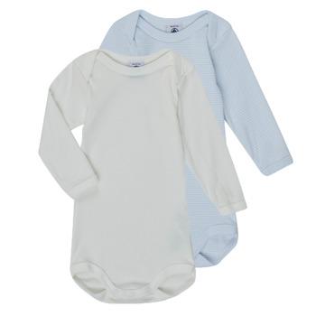 Clothing Boy Sleepsuits Petit Bateau A00AR-00 Multicolour
