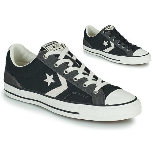Shoes Men Low top trainers Converse STAR PLAYER ALT EXPLORATION OX Black / Grey