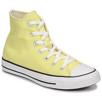 Shoes Women Hi top trainers Converse CHUCK TAYLOR ALL STAR SEASONAL COLOR HI Yellow