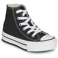 Shoes Girl Hi top trainers Converse CHUCK TAYLOR ALL STAR EVA LIFT CANVAS COLOR HI Black