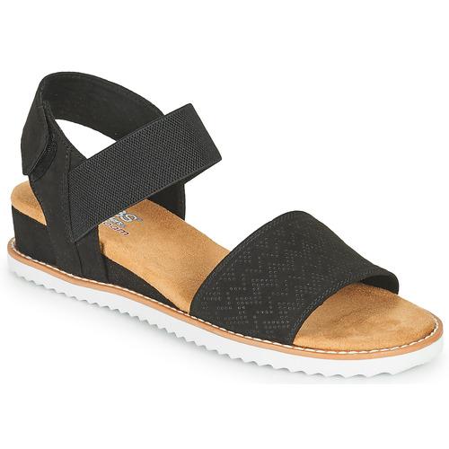 Shoes Women Sandals Skechers DESERT KISS Black