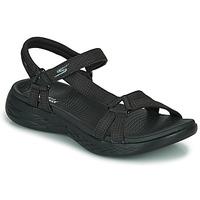Shoes Women Outdoor sandals Skechers ON THE GO 600 Black
