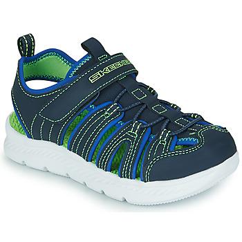 Shoes Boy Outdoor sandals Skechers C-FLEX SANDAL 2.0 Marine / Green