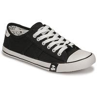 Shoes Women Low top trainers Le Temps des Cerises EASY Black