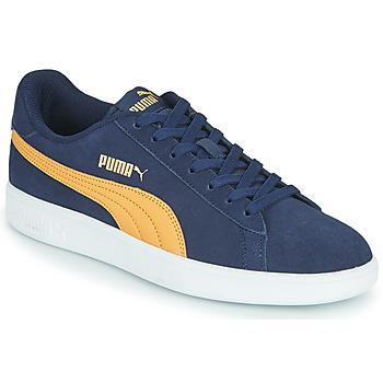 Shoes Men Low top trainers Puma SMASH Blue / Beige