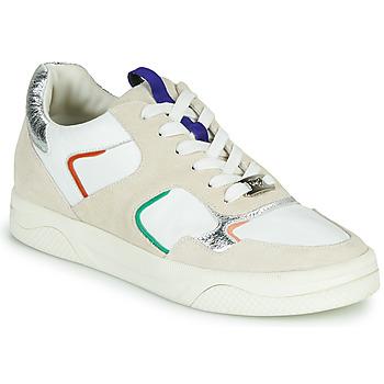 Shoes Women Low top trainers Mam'Zelle ARTIX White / Multicolour