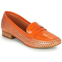 Shoes Women Loafers Mam'Zelle ZIP Orange