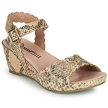 Shoes Women Sandals Mam'Zelle DOUGA Beige