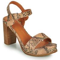 Shoes Women Sandals Mam'Zelle JAIN Beige