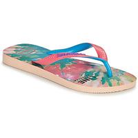 Shoes Women Flip flops Havaianas TOP FASHION Pink