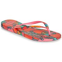 Shoes Women Flip flops Havaianas SLIM SUMMER Pink / Red