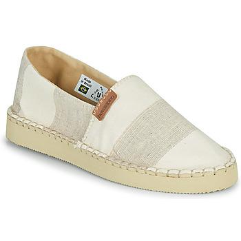 Shoes Women Espadrilles Havaianas ESPADRILLE CLASSIC FLATFORM ECO Beige