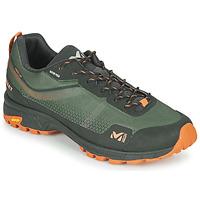 Shoes Men Walking shoes Millet HIKE UP GORETEX Green / Black