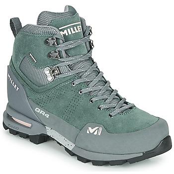 Shoes Women Walking shoes Millet GR4 GORETEX Green / Black