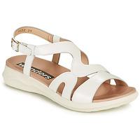 Shoes Women Sandals Wonders PEWE White