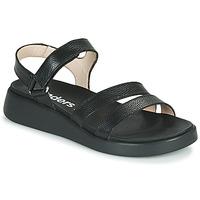 Shoes Women Sandals Wonders PERA Black