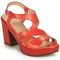 Shoes Women Sandals Wonders PAROTI Red