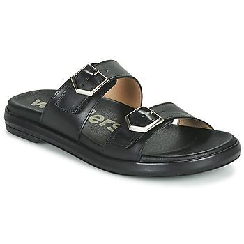 Shoes Women Mules Wonders PISTOIL Black