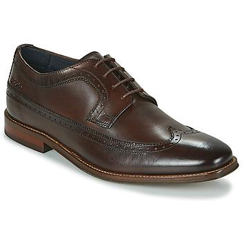 Shoes Men Derby Shoes Base London HAVISHAM Brown