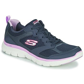 Shoes Women Low top trainers Skechers FLEX APPEAL 4.0 Navy / Pink