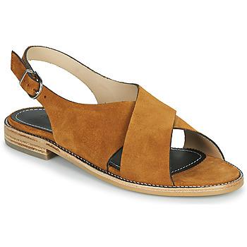 Shoes Women Sandals Muratti RAVILLOLES Cognac