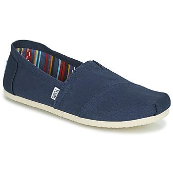 Shoes Men Espadrilles Toms CORE Blue