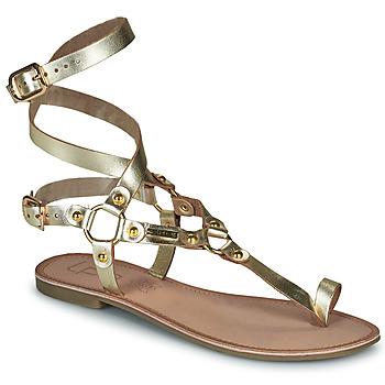 Shoes Women Sandals Les Petites Bombes BLEONA Gold
