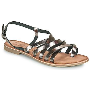 Shoes Women Sandals Les Petites Bombes BRENDA Grey