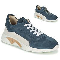 Shoes Men Low top trainers Moma NEW-CASTLE Blue