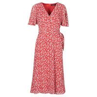 Clothing Women Long Dresses Lauren Ralph Lauren ABEL Red