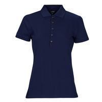 Clothing Women Short-sleeved polo shirts Lauren Ralph Lauren KIEWICK Blue