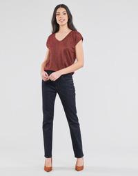 Clothing Women Straight jeans Lauren Ralph Lauren MIDRISE STRT-5-POCKET-DENIM Marine