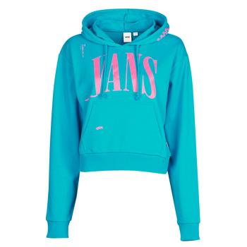 Clothing Women Sweaters Vans WM KAYE CROP HOODIE Blue