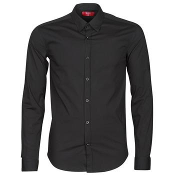 Clothing Men Long-sleeved shirts BOTD OMAN Black