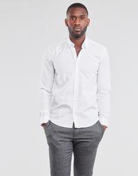 Clothing Men Long-sleeved shirts BOTD OMAN White