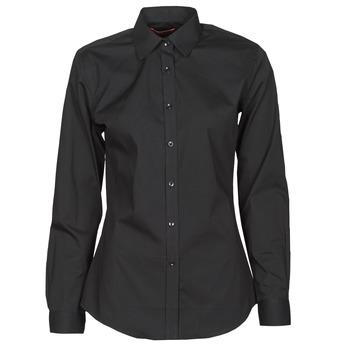 Clothing Women Shirts BOTD OWOMAN Black