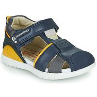 Shoes Boy Sandals Biomecanics 212187 Marine / Yellow