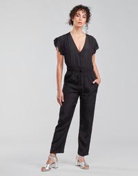 Clothing Women Jumpsuits / Dungarees See U Soon 21191033 Black