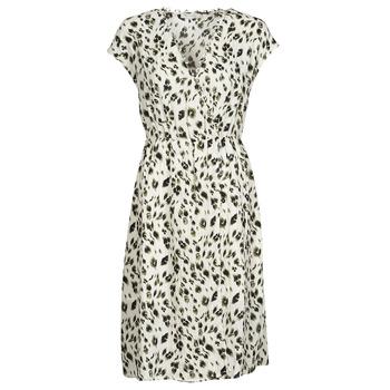 Clothing Women Short Dresses See U Soon 21122122 Beige / Kaki