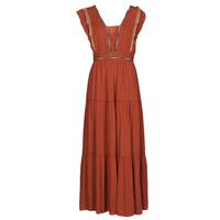 Clothing Women Long Dresses See U Soon 21121116 Red