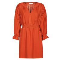 Clothing Women Short Dresses See U Soon 21122109 Red